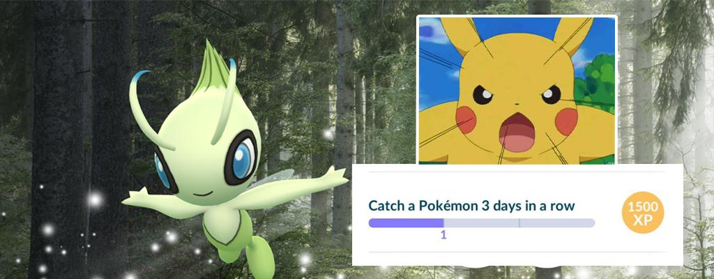 Pokémon GO: Diese Tricks helfen Spielern bei Fehlern in Celebi-Quests