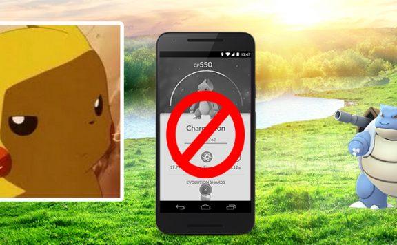 Pokémon GO Pikachu sauer Android