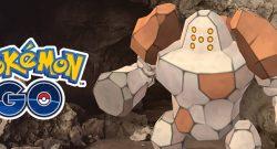 Pokémon GO Regirock Titel
