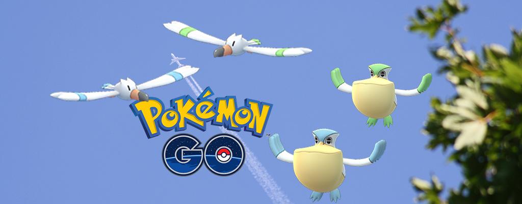 Pokémon GO: Am Wochenende steigt Eure Chance auf Shiny Wingull