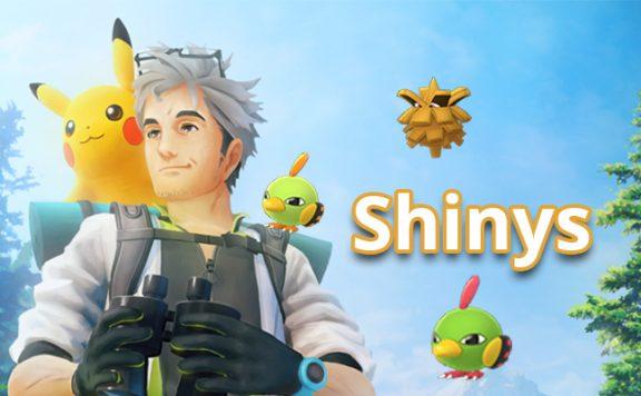 Pokémon GO Shinys Johto
