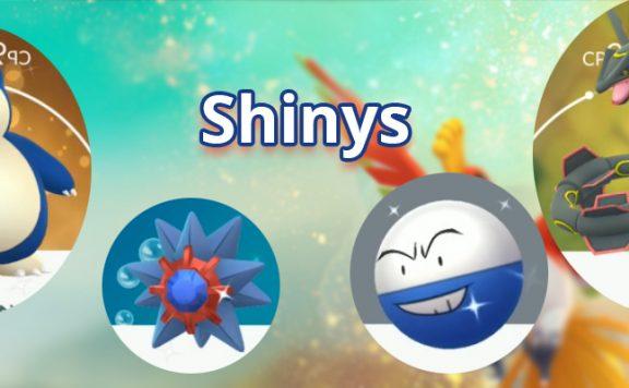 Pokémon GO Shinys Titel2
