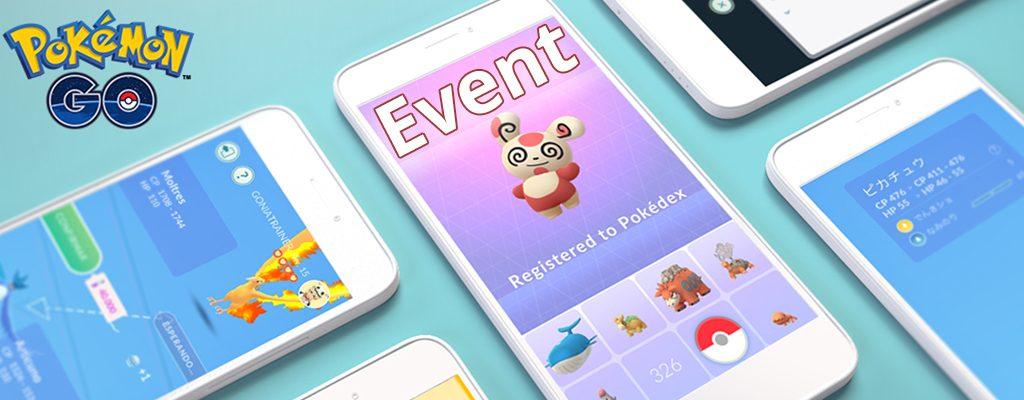 Pokémon GO Tausch-Event