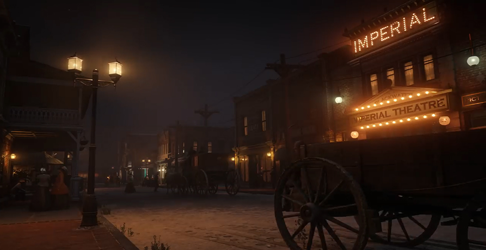 RDR 2 Theater in Blackwater