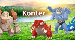 Pokémon GO Regirock Konter