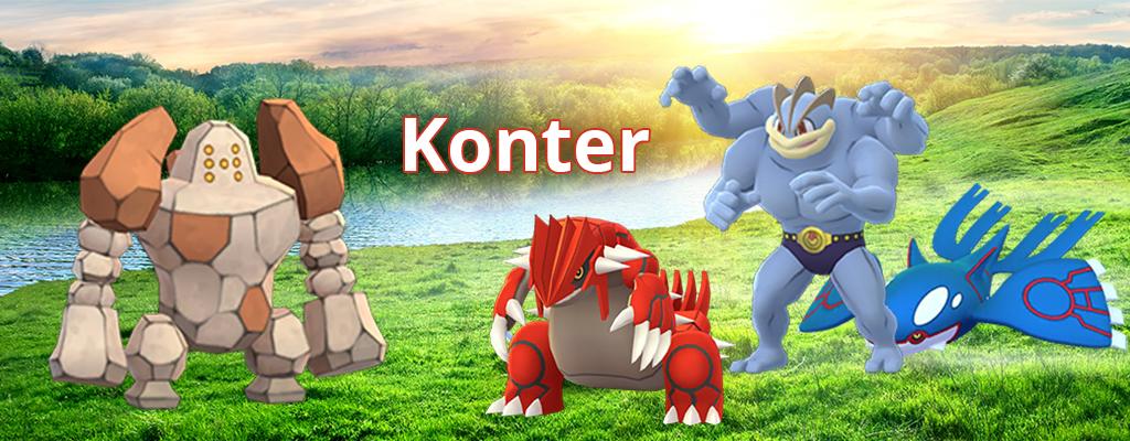 Pokémon GO: Regirock Konter – So besiegt Ihr den neuen Raidboss