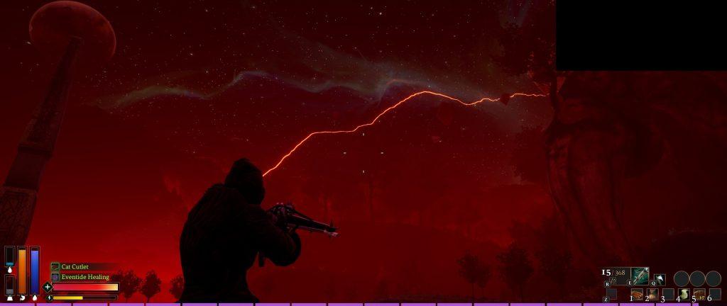 Rend Screenshot Reckoning blutiger Himmel