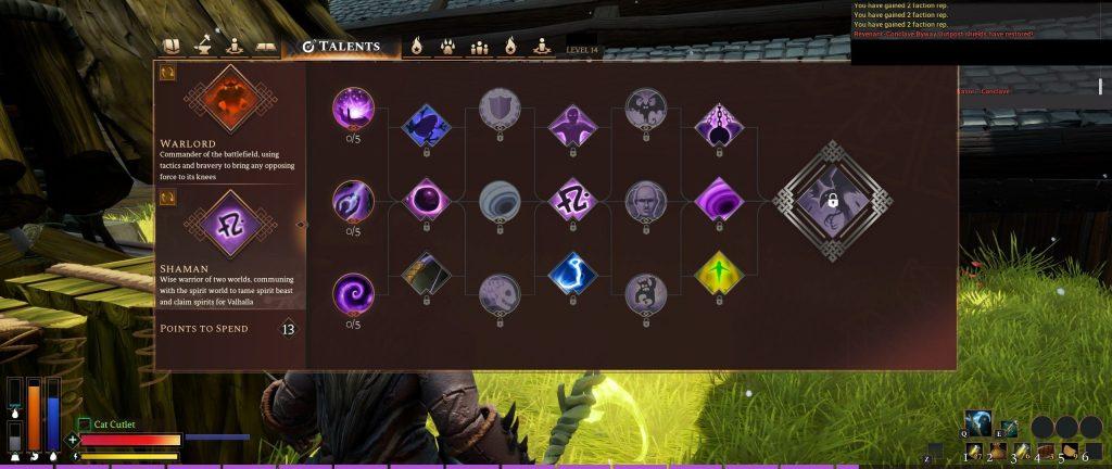Rend Screenshot Schamane und Warlord