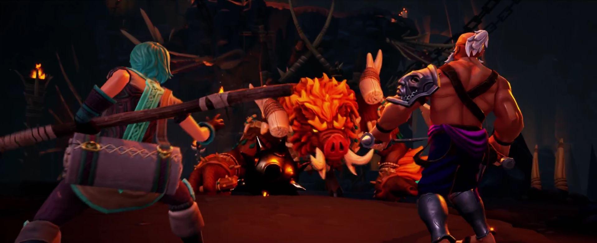 Torchlight Trailer Screenshot Feuersau