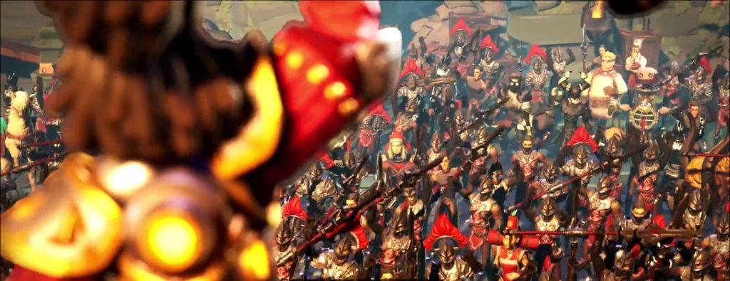 Torchlight Trailer Screenshot Helden von Torchlight