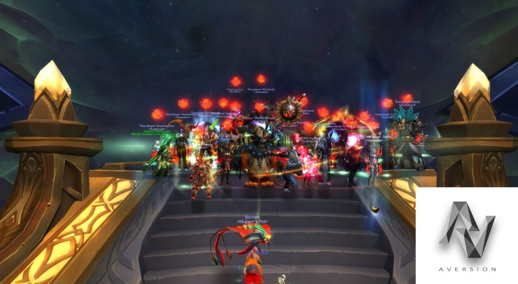 WoW Aversion RAidgilde Argus Mythic Firstkill