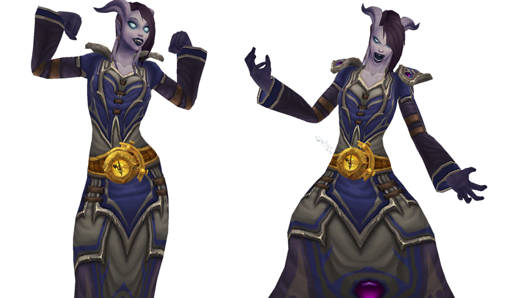 WoW Draenei Waist of Time Show