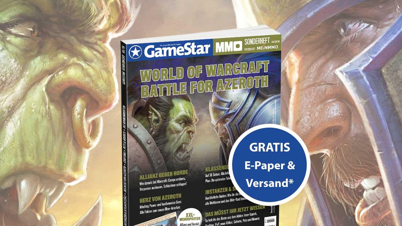 WoW GameStar Sonderheft Promobild
