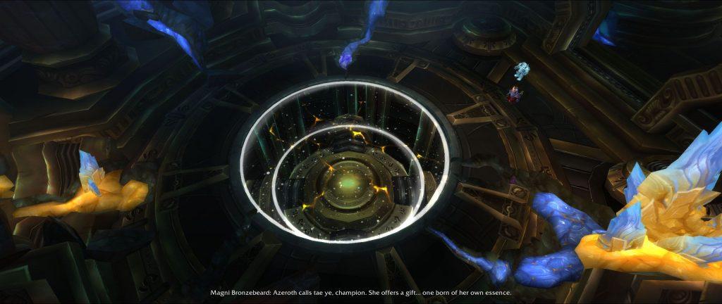 WoW Herz von Azeroth Kammer Screenshot