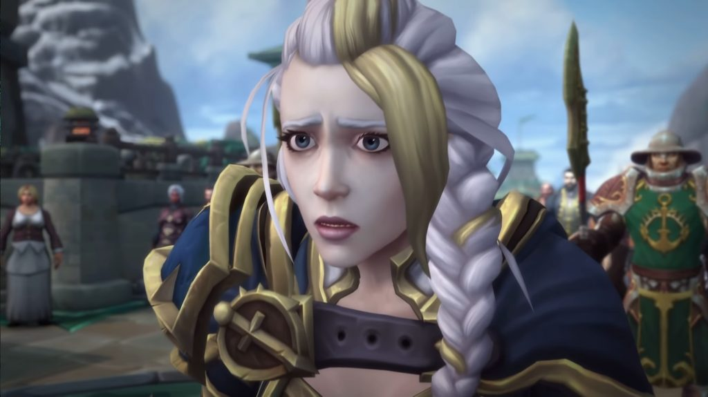WoW Jaina Face shocked