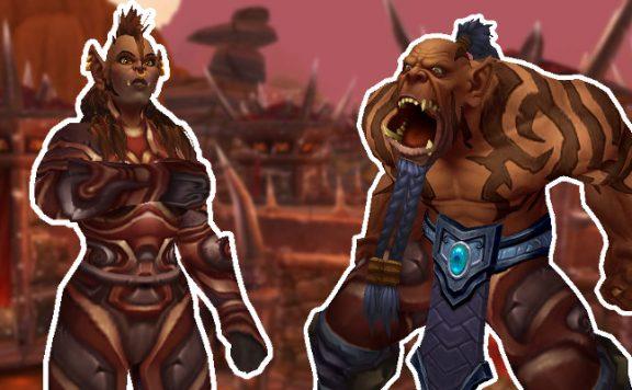 WoW Orgrimmar Maghar Orcs Szenario Titel korrekt