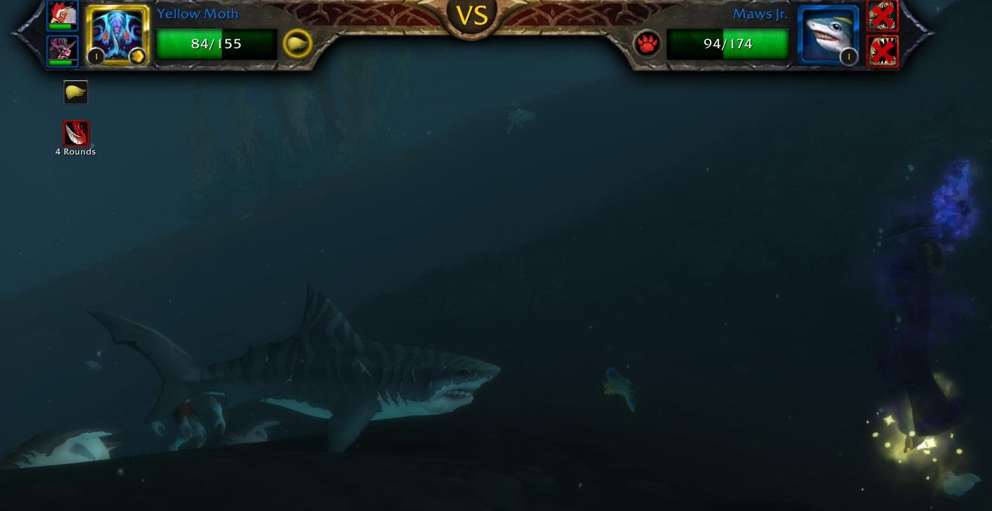 WoW Pet Battle Level 1