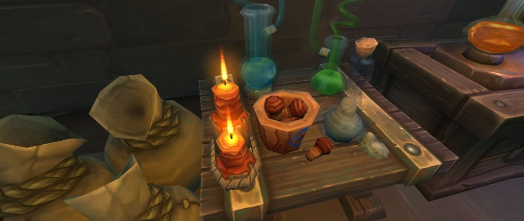 WoW Screenshot Berufe in Boralus Alchemie 2