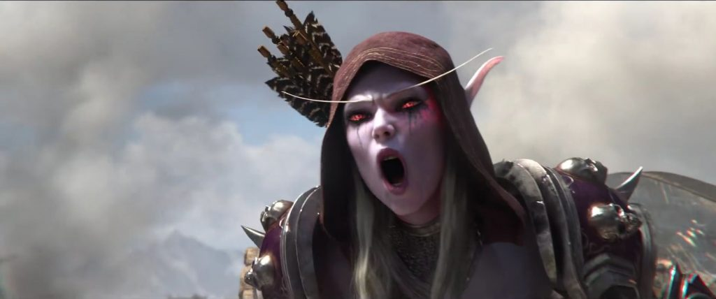 WoW Screenshot Sylvanas For the Horde