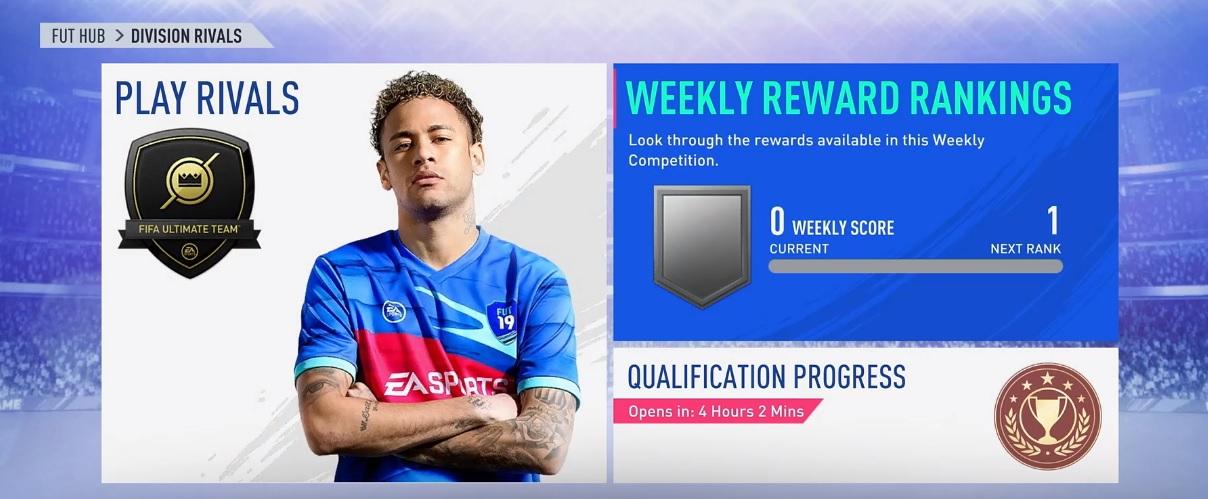 Division Rivals Belohnungen