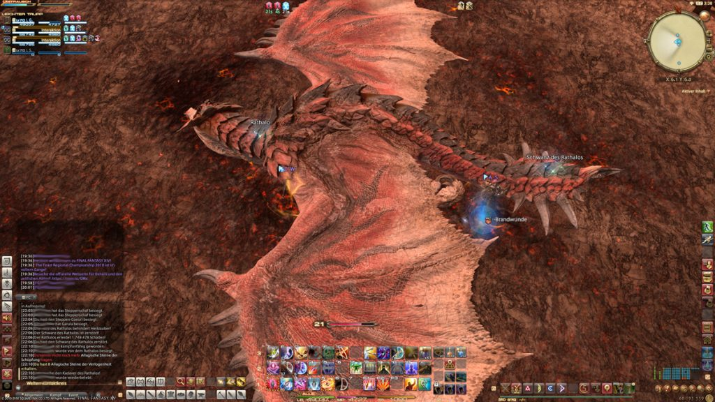 final fantasy xiv rathalos looten