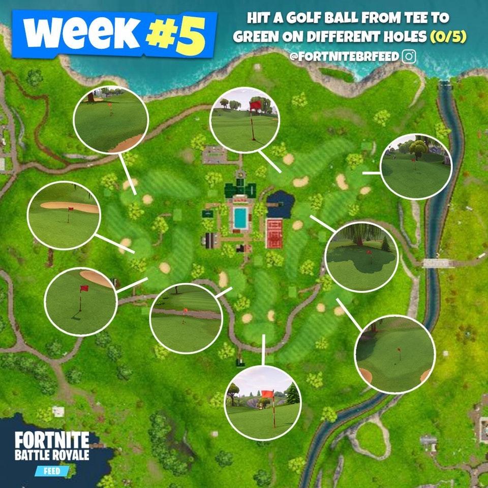Fortnite Golf Map