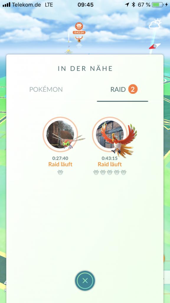 Pokémon GO Ho-Oh Deutschland