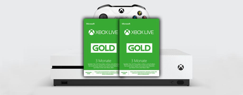 Gamescom-Deals bei Amazon – 6 Monate Xbox Live für 19,99€