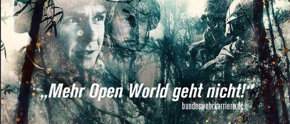 """""""Mehr Open World geht nicht"""" – Bundeswehr wirbt offensiv auf Gamescom"""