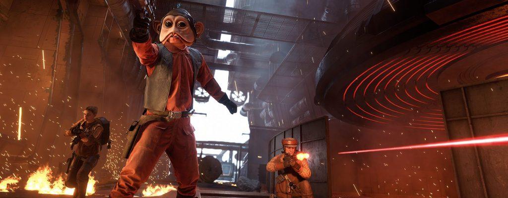 Kurzer Moment des Friedens in Star Wars Battlefront 2 bewegt tausende Spieler