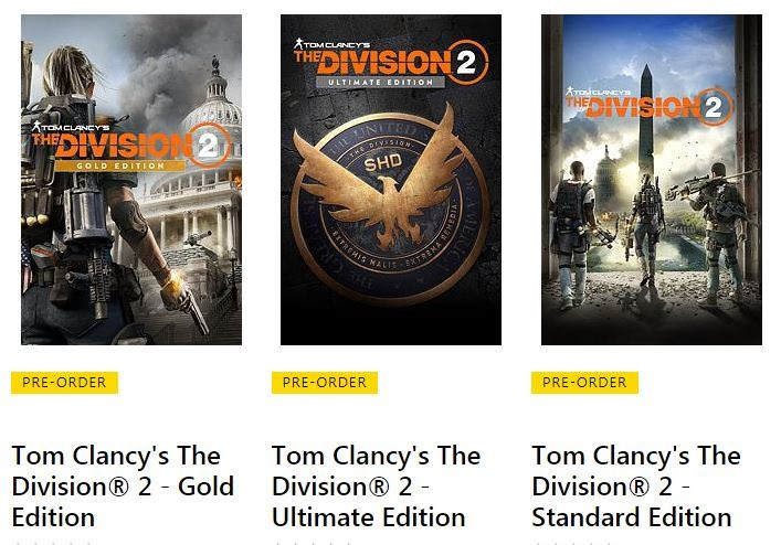 the division 2 editions cover