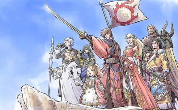 final fantasy xiv jubiläum artwork