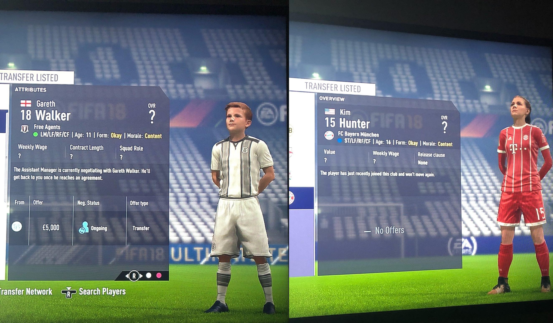 Fifa 18 Im Karrieremodus Ist Der 11 Jährige Alex Hunter Auf Dem Markt