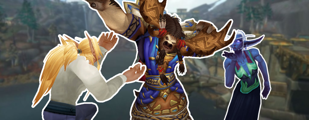 wow battle for azeroth Taure Nachtgeborene Blutelf Titel