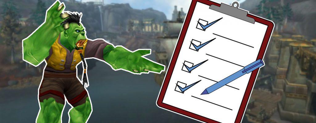 Uldir-Checkliste: Bist du fit für den neuen WoW-Raid?
