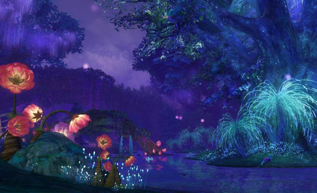 Aion A New Dawn Screenshot Gebiete