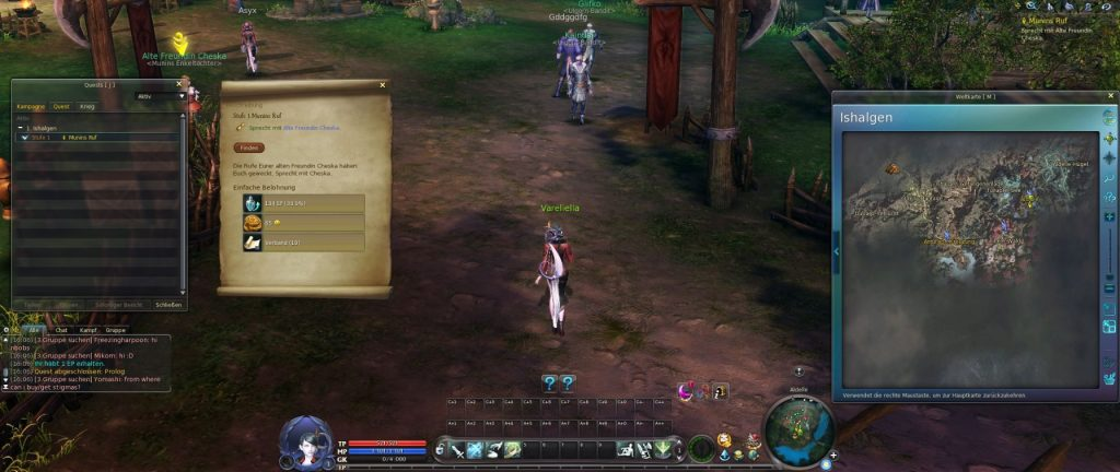 Aion A New Dawn Screenshot Interface