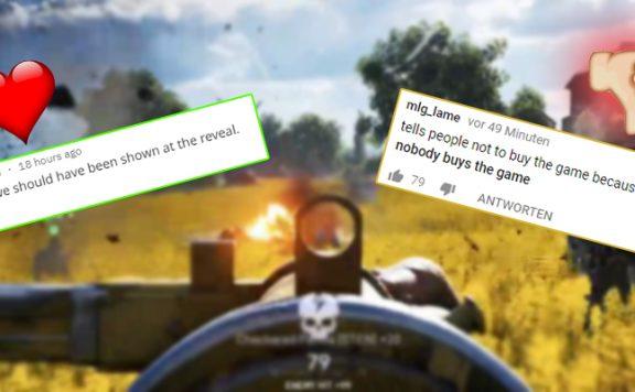 Battlefield 5 Trailer Hassliebe Titel