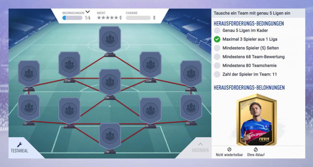 FIFA 19 SBC