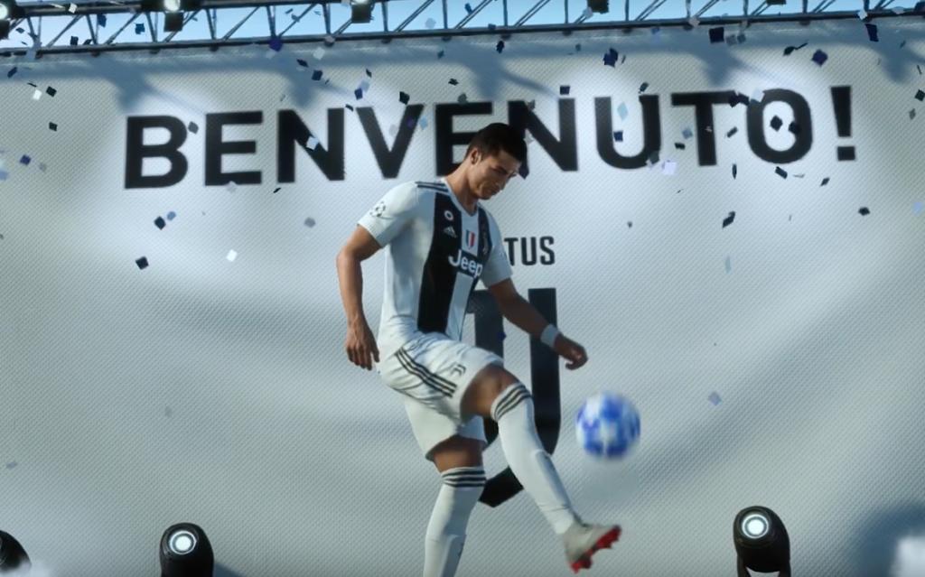 FIFA 19 Ronaldo champions league
