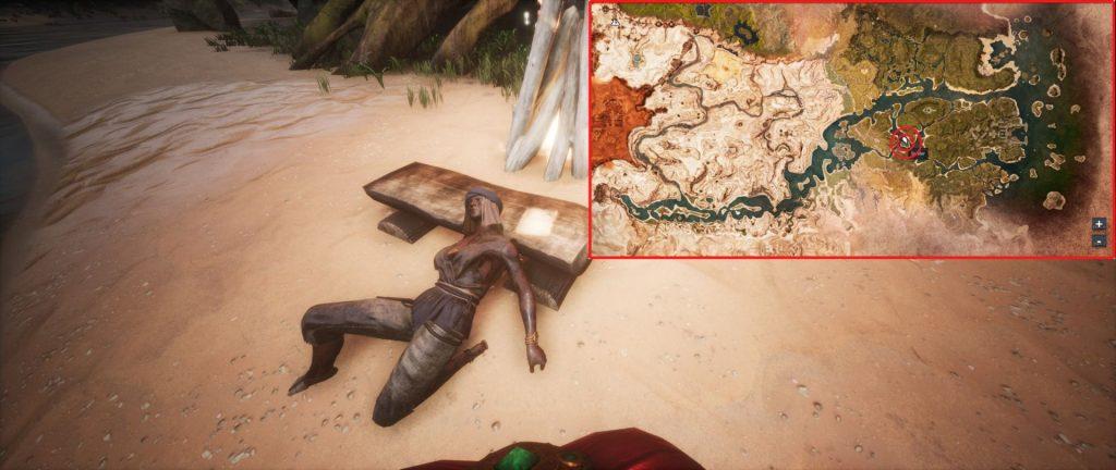 Conan Exiles Kochkunst X Fundort mit Karte