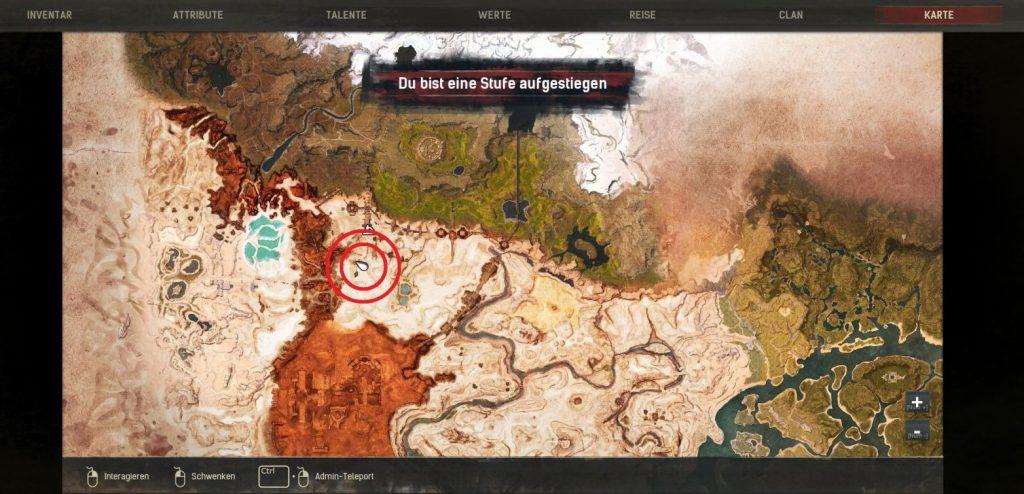 Conan Exiles Screenshot Karte Kind von Jhebbal Sag