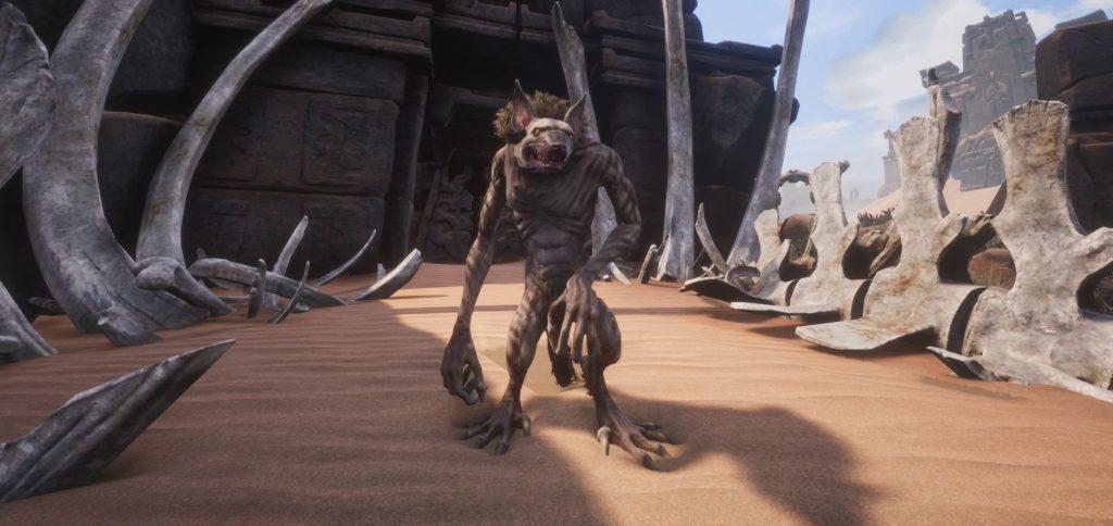 Conan Exiles Screenshot Kind von Jhebbal Sag