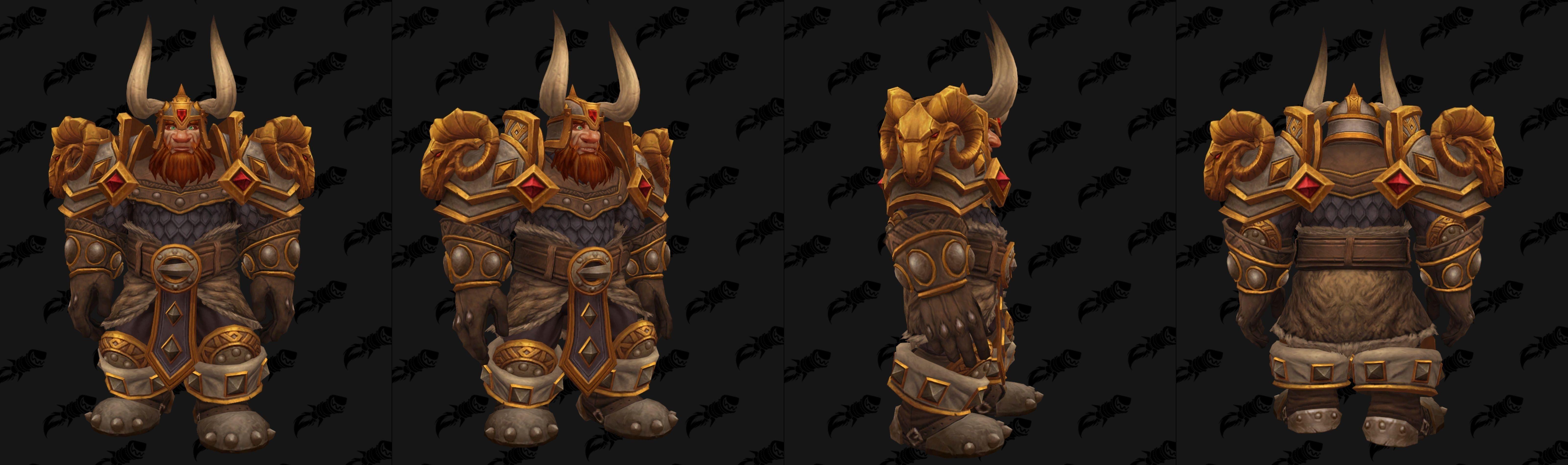 WoW Dwarf Heritage Armor Male