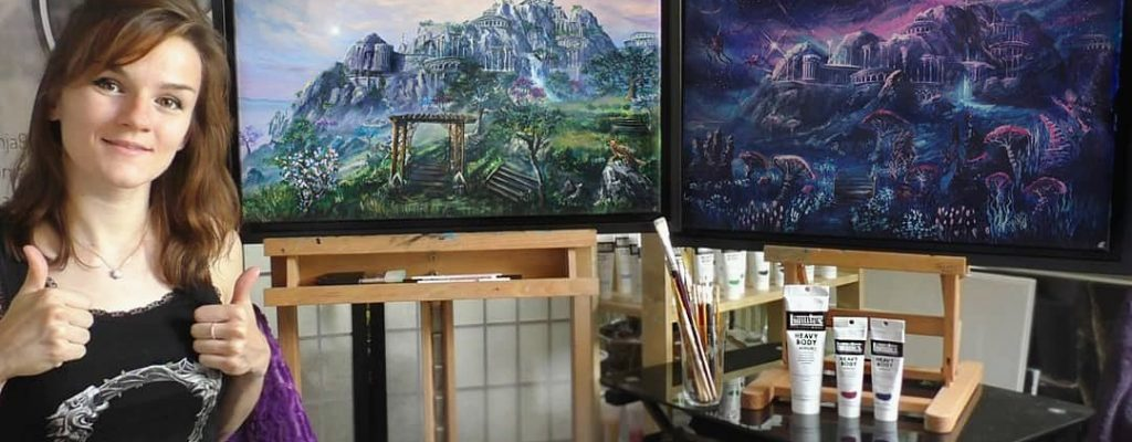 """ESO-Künstlerin Aronja: """"Tamriel ist für mich der Inbegriff von Fantasy"""""""