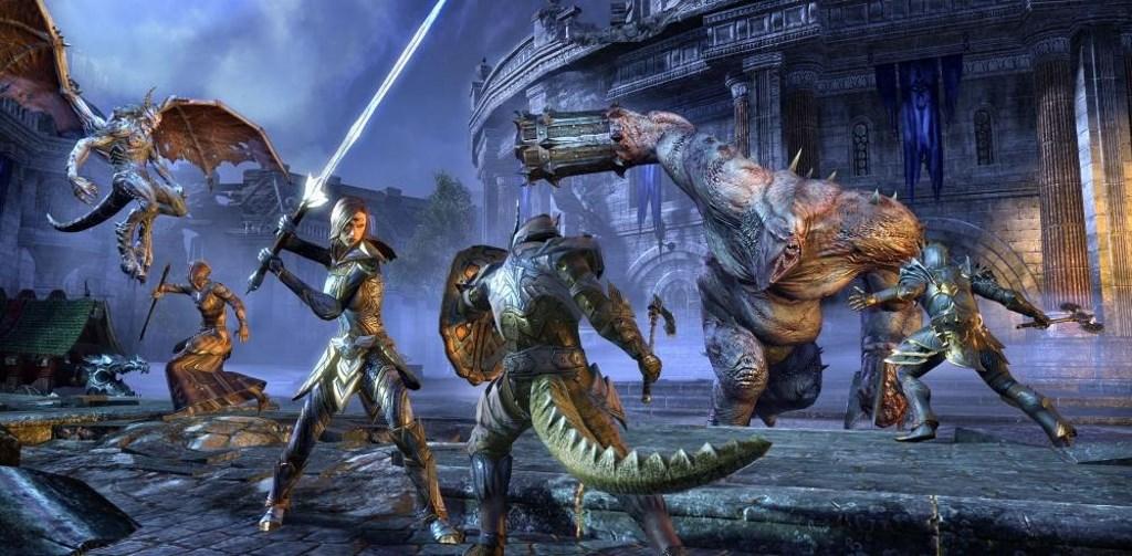 Elder Scrolls Online Argonier kampf