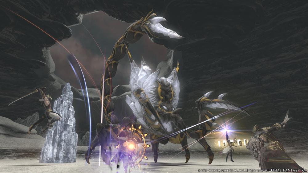 final fantasy xiv burnt dungeon boss