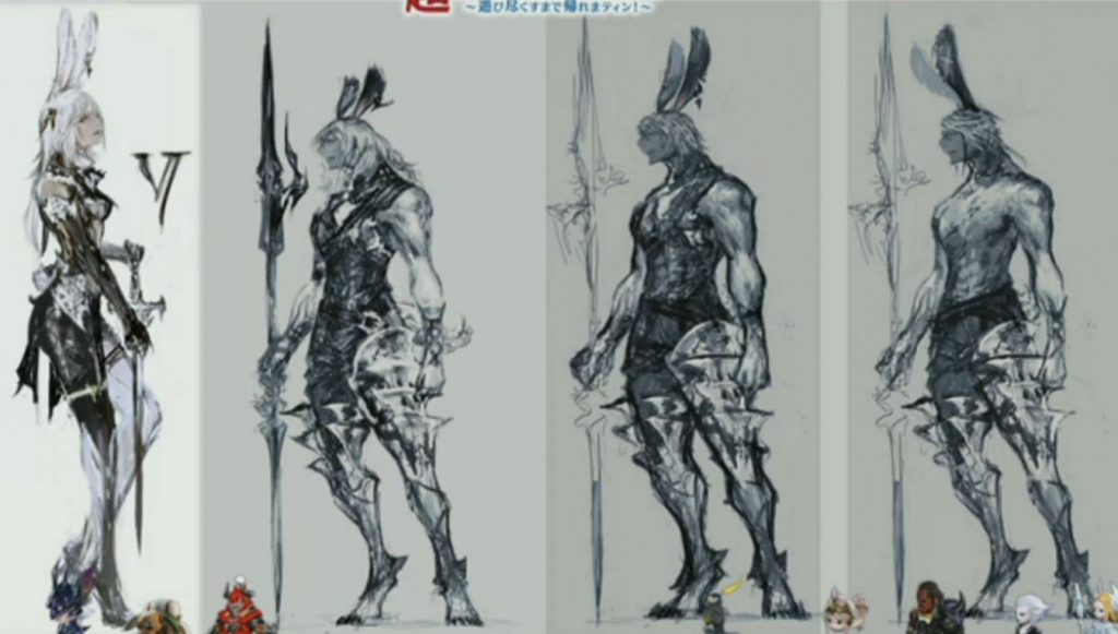 final fantasy xiv viera concept art