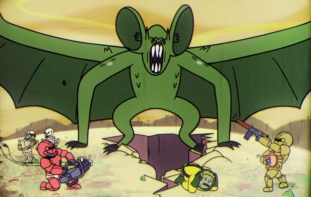 Fallout 76 Atombomben Mutant