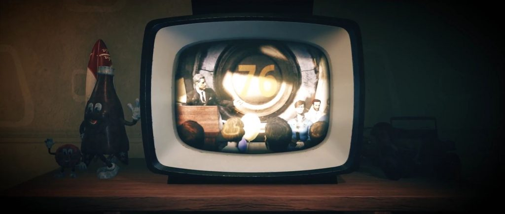Fallout 76 Intro Fernseher